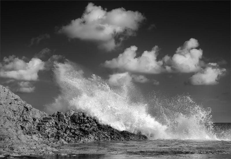 небо, море, волны, вода, облака В облака!photo preview