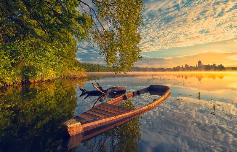 В тихую пристань,где зыблются лодки ...©photo preview