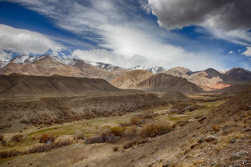 кыргызстан, горы Байлампталphoto preview