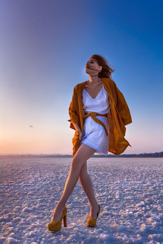 woman, art, portrait, fashion, beauty, natural light, travel, cyprus, salt lake Let your light shine... wherever you gophoto preview