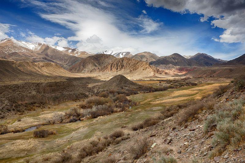 кыргызстан, горы Каньоны \