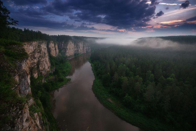 урал, горы, уральскиегоры, ай, айскиепритесы Ранним летним утромphoto preview