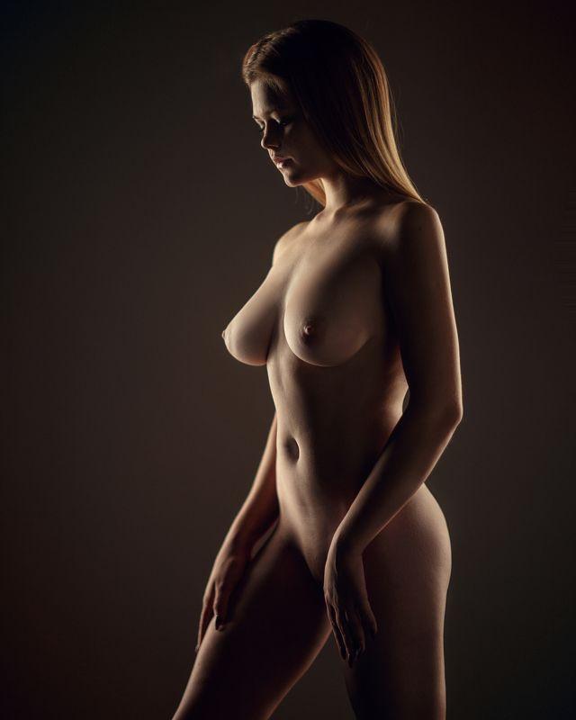 art, artnude, beautiful, girl, light, nu, nude, sexy, studio, sweet, woman, ню, девушка, модель, ню, портрет, portrait Алинаphoto preview
