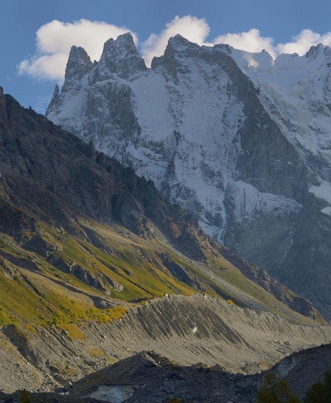 горы осень вечер шхельда Осенний вечер в горахphoto preview