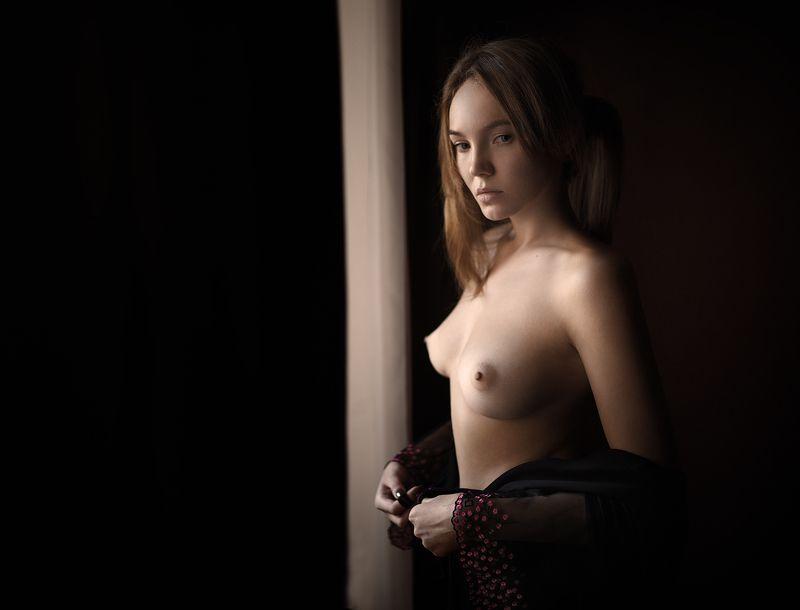 ню портрет девушка Аришаphoto preview