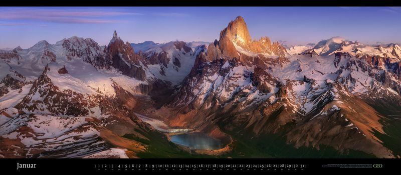 geo, panoramic, calendar Панорамный календарь GEO 2020 \