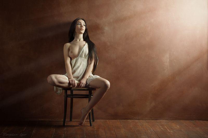 ню, девушка, грудь, обнажённая photo preview
