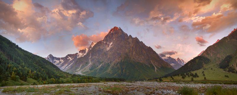 утро,осень,чегем,тихтинген,кбр Осеннее утро у Тихтингенаphoto preview