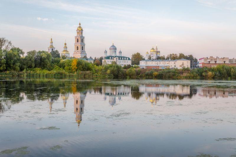 пейзаж, россия, монастырь, дивеево, landscape Дивеевоphoto preview