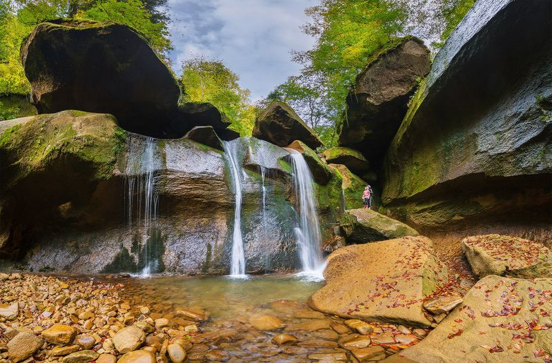 западный кавказ соленое кызыл бек водопады сентябрь В потаённых уголках Кызыл-Бекаphoto preview
