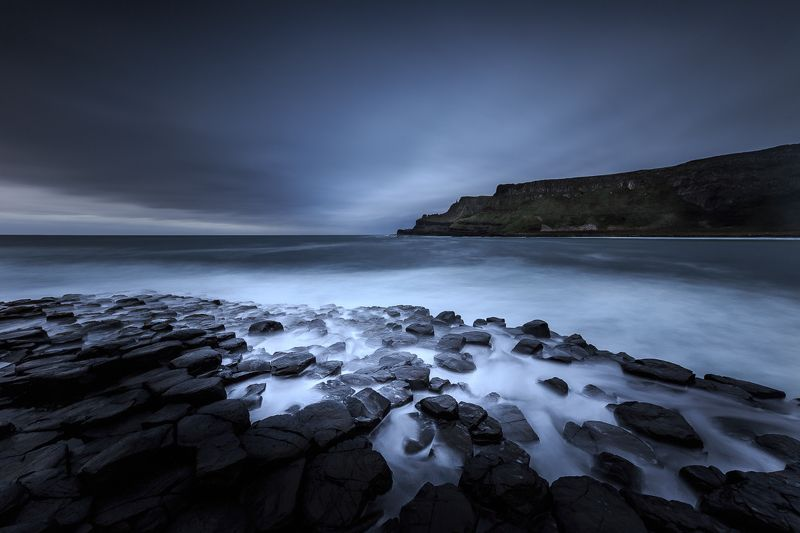 longexposure, northern ireland, ireland, Giant\'s Causeway, ocean, sunrise, seunset Giant\'s Causewayphoto preview