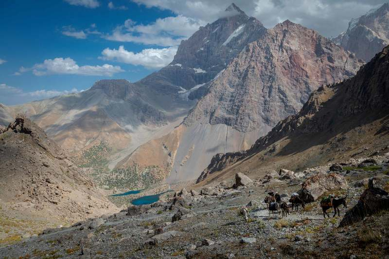 На Лауданский перевал.photo preview