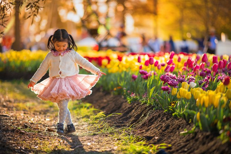 dancing with tulipsphoto preview