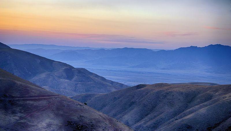 кыргызстан, горы Палитра вечераphoto preview