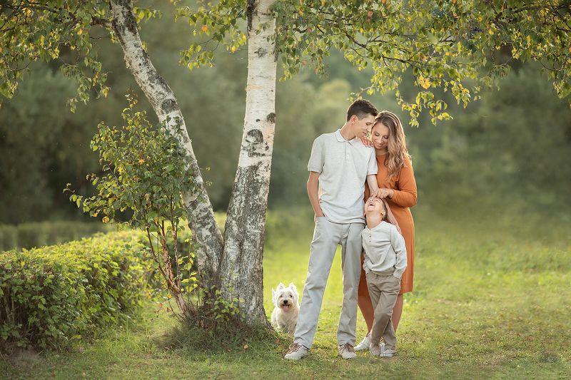 семья, портрет, дети Любимый носикphoto preview