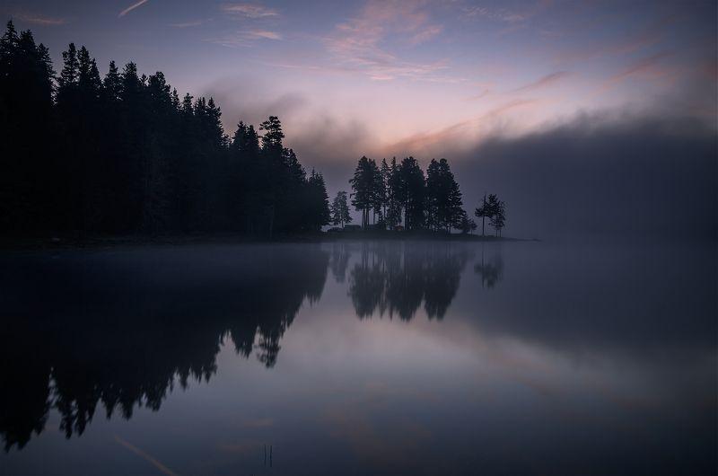 landscape, nature, sunrise, morning, dawn, утро, пейзаж, озеро, coastal, coast, beach, lake, long, exposure, scenery, reflections Quiet dawns / Широка полянаphoto preview
