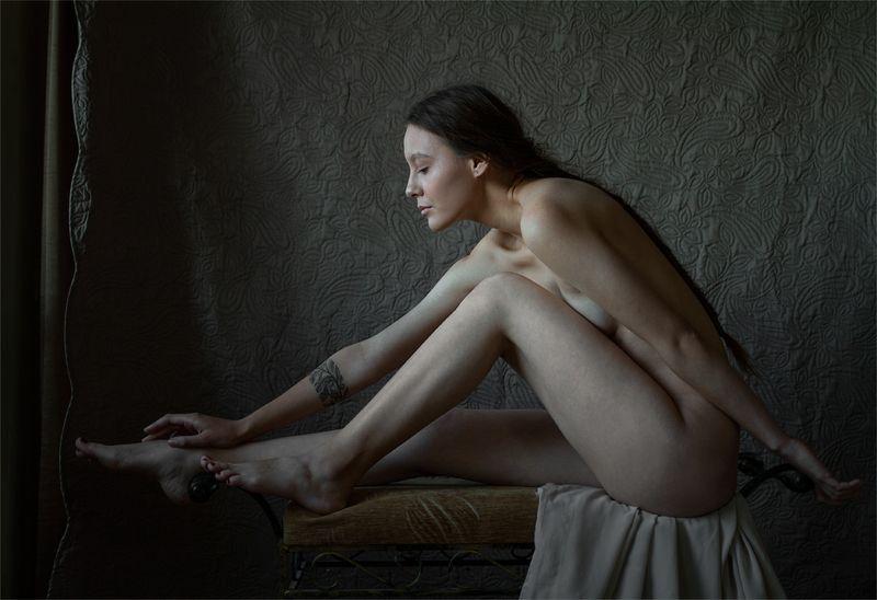 fine art nudes Очаровательный дебютphoto preview