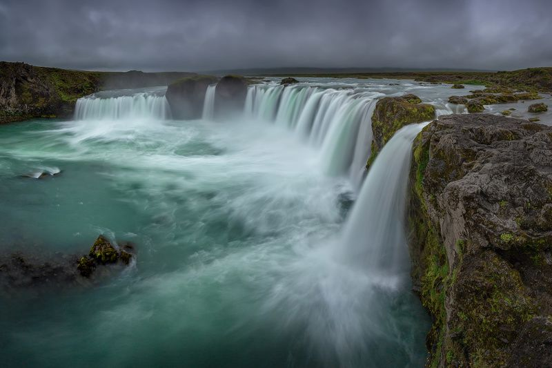 исландия, iceland, goðafoss, годаффос, waterfall, водопад Водопад Бога (Goðafoss)photo preview