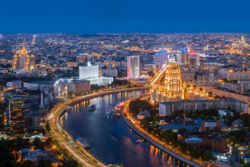 москва, москва-сити, день, ночь, moscow, moscow city, day, night День и ночьphoto preview