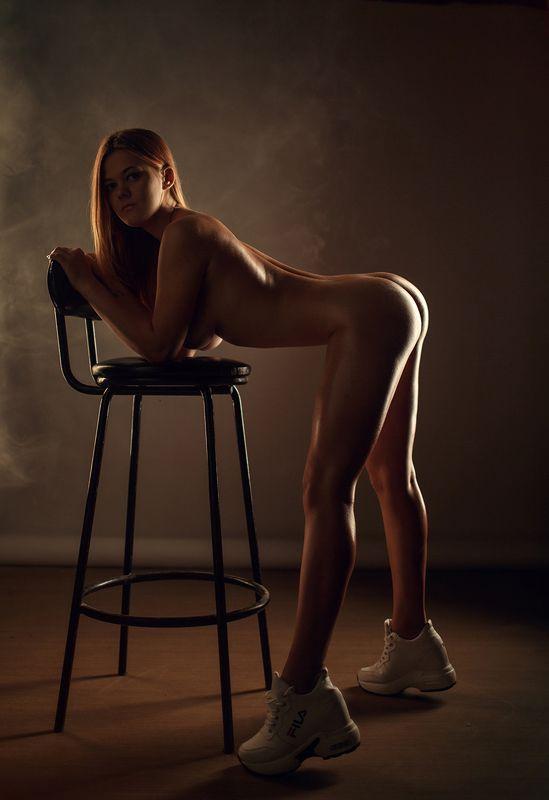 art, artnude, beautiful, girl, light, nu, nude, sexy, studio, sweet, woman, ню, девушка, модель, ню, портрет, portrait После спортивного залаphoto preview