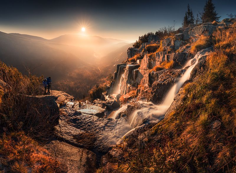 Waterfall Pancavskyphoto preview