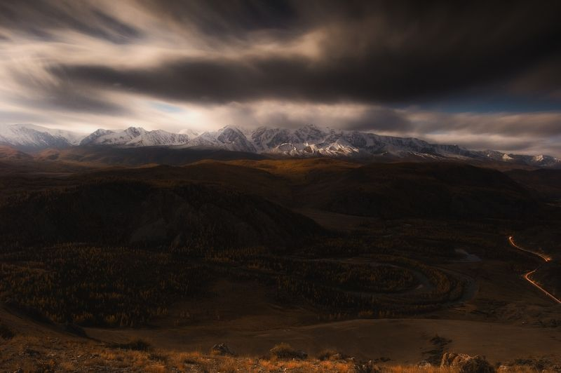 горный алтай, дикая природа россии, россия, толмачев дмитрий, рассвет, горы, сибирь, ***photo preview