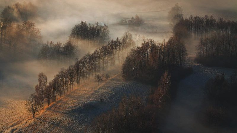 landscape,canon,mist,light,autumn A Hazy Morning....photo preview