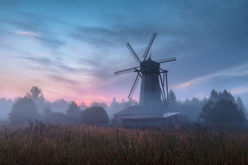 мельница, истра, подмосковье, туман, рассвет Рассвет у мельницыphoto preview