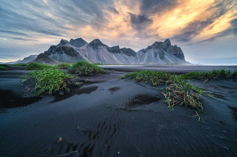 Stokksnes at Sunrisephoto preview