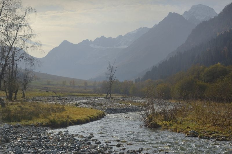 горы осень архыз утро Осеннее утро в Архызеphoto preview