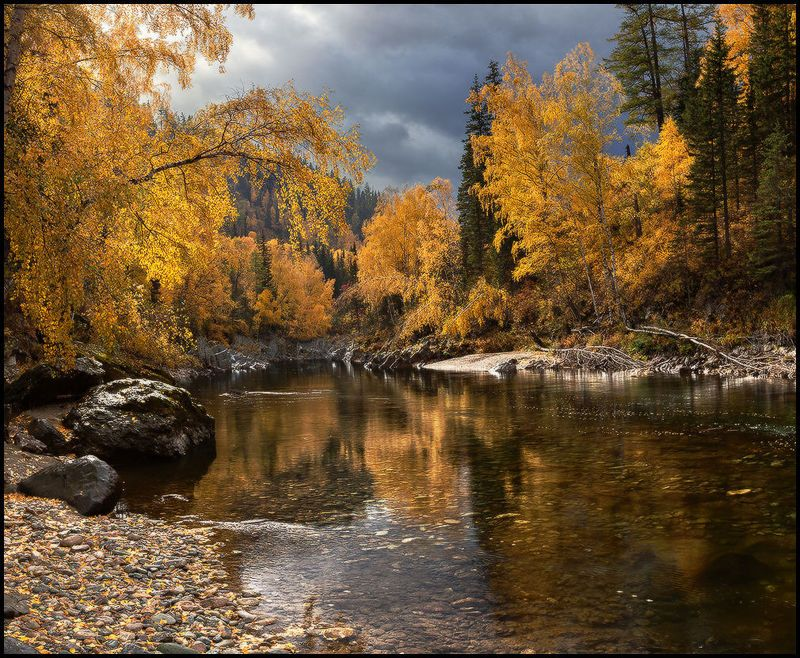 алтай, кумир, осень, вода, каньон, горы, река Девичий Плесphoto preview