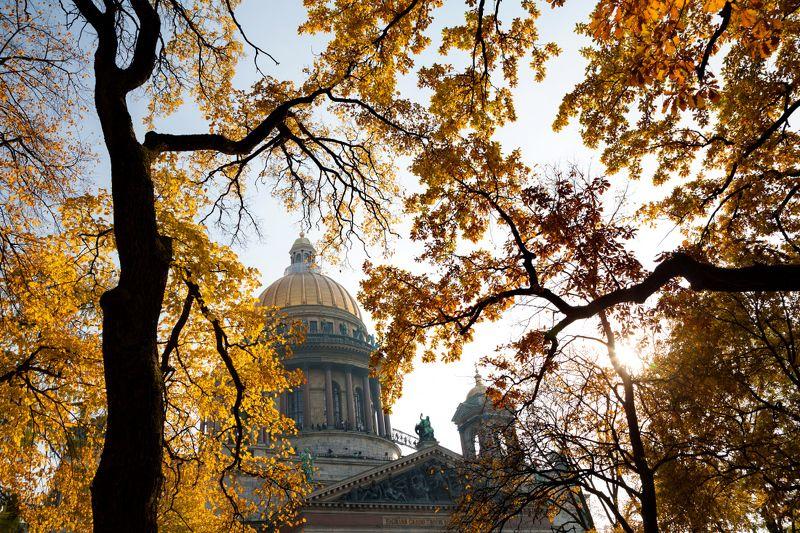 Осенний Петербург. Исаакиевский собор.photo preview