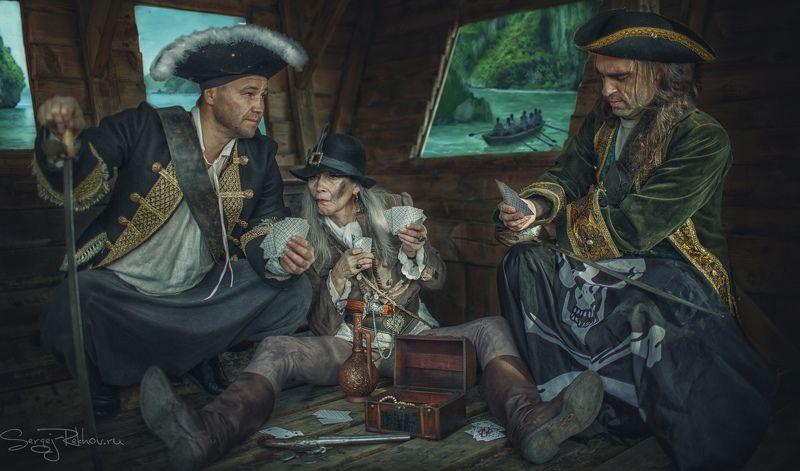 пираты, корабль, игра, карты, жанр, rekhov Пиратыphoto preview
