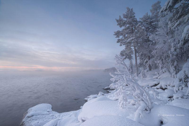 север, кольский, хибины, заполярье, имандра,зима,изморозь, Изморозь.photo preview
