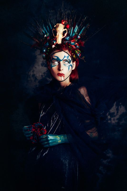 woman, art, portrait, fashion, beauty, studio Nyxphoto preview