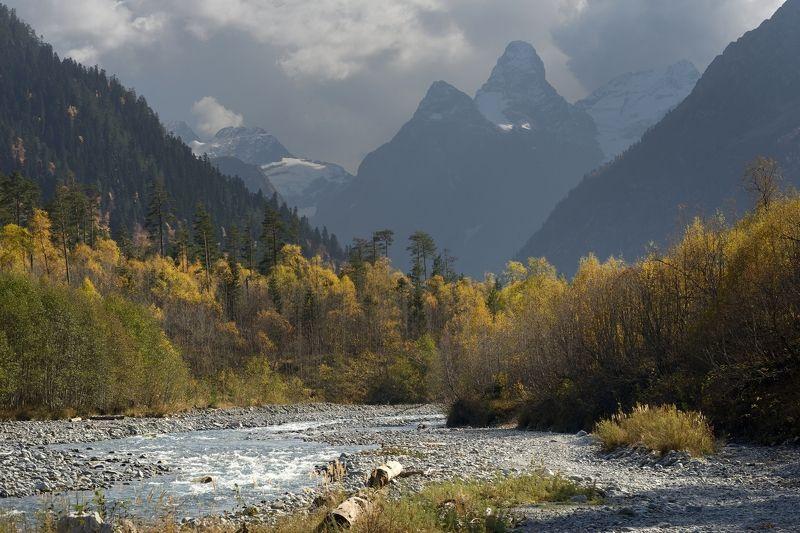 горы осень архыз такмак Осень в Архызе,Такмакphoto preview