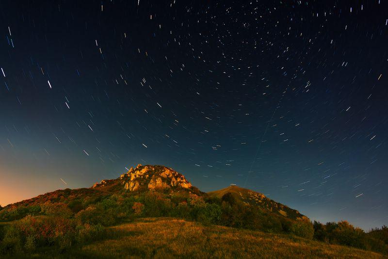 звезды,осень,бештау, ночь Вальс осенних звездphoto preview