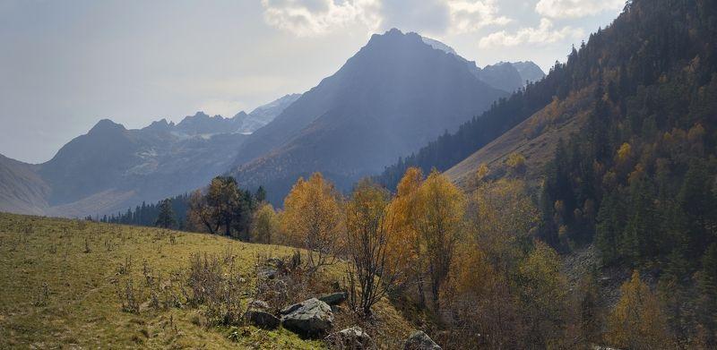 горы осень архыз Осень в Архызеphoto preview