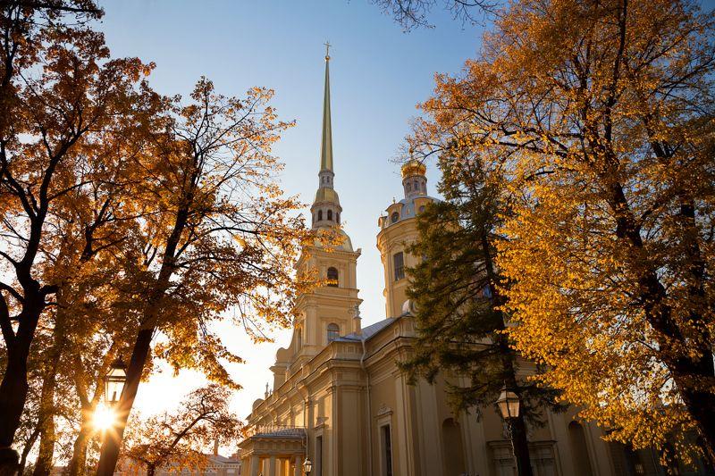 Осенний Петербург. Петропавловская крепость.photo preview
