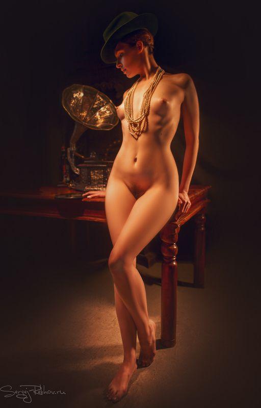 ню, студияцитадель, nude, sexy, beauty, rekhov Старая пластинкаphoto preview