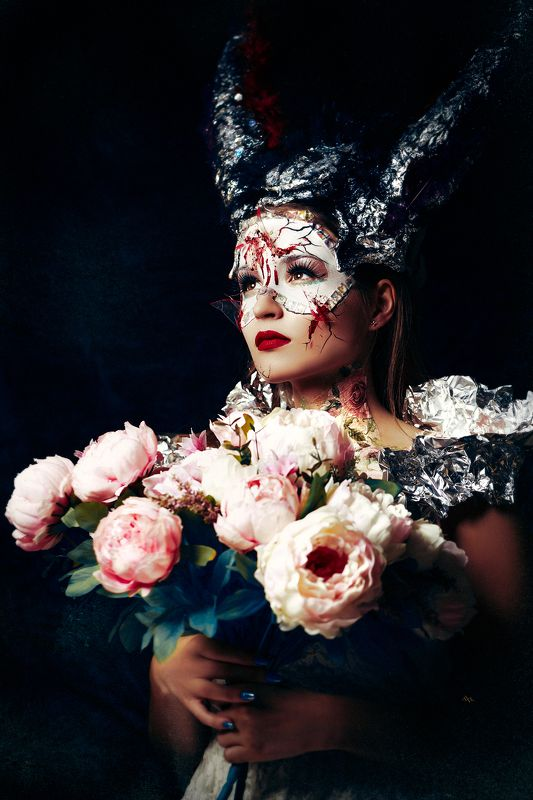 woman, art, portrait, fashion, beauty, conceptual The innocent demonessphoto preview