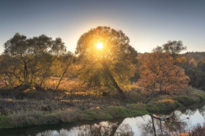 закат,река,природа,осень Осенний закатphoto preview