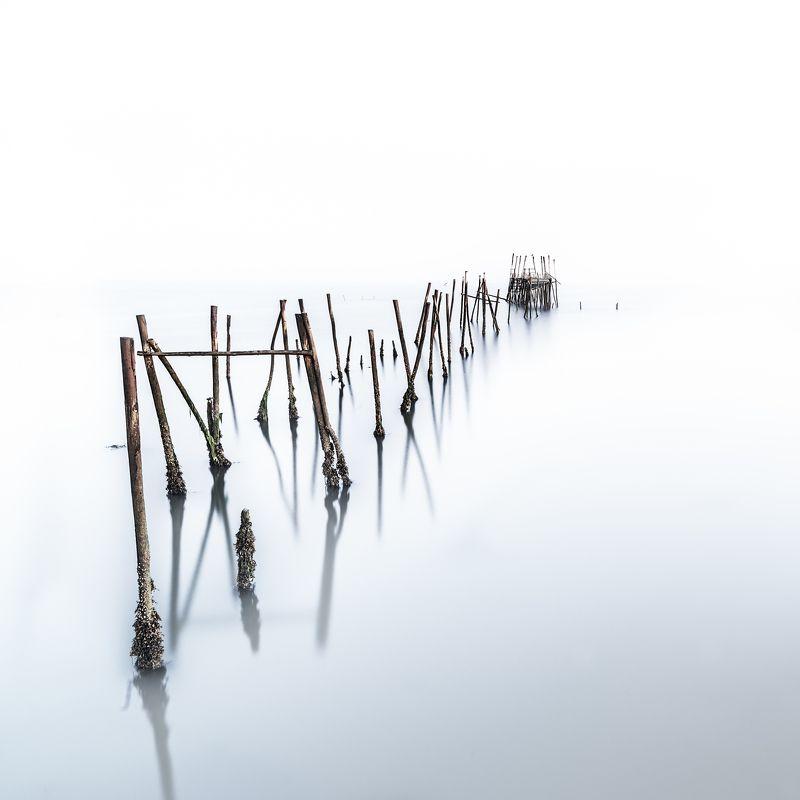 long exposure,zeiss,old bridge,fog,morning,minimalistic,felix ostapenko,nikon, музыка тишиныphoto preview