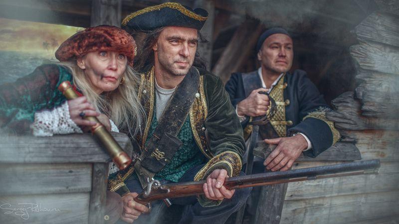 пираты, корабль, битва, жанр, rekhov Пиратыphoto preview