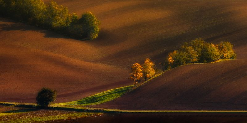 hills, autumn,colours,trees,sunset Moravian autumnphoto preview