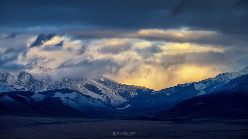алтай, сибирь, горы, закат, altay, siberia, mountains, sunset ***photo preview