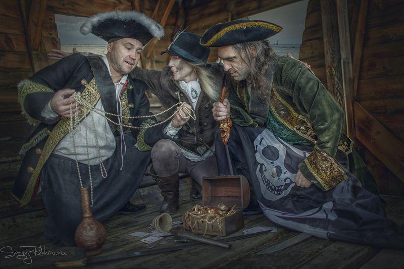 пираты, корабль, клад, карты, жанр, rekhov Пиратыphoto preview