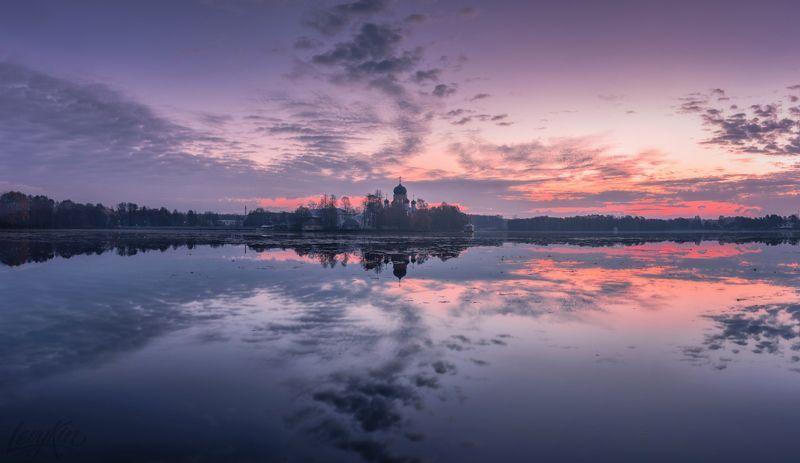 пейзаж, введенское, рассвет, утро, россия, природа, Между мирамиphoto preview