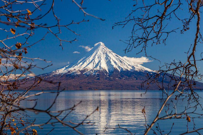 камчатка, вулкан, пейзаж, путешествие, осень, озеро, кроноцкое, В сердце Камчаткиphoto preview
