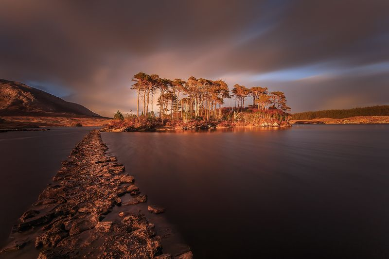 Longexposure, sunrise, sunset, Connemara, Ireland, landscapes,  Connemaraphoto preview